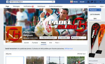 Communication par Padel Club Belgium